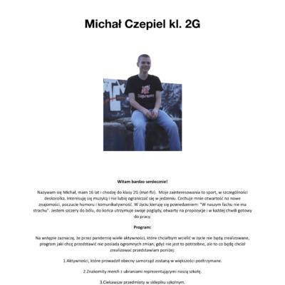 Michał Czepiel - PROGRAM