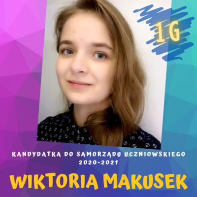 Wiktoria Makusek - PLAKAT